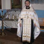 Отец Георгий и Отец Виталий в храме Св. Николая с. Жукин