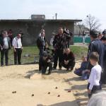 Катание яиц на Пасху с.Жукин